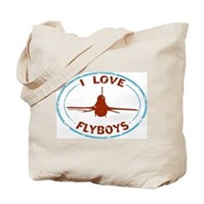 Flyboys F-16 -blue/red Tote Bag