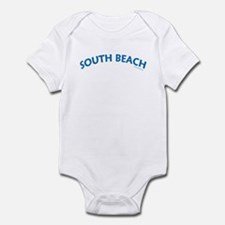 South Beach (Blue) - Infant Creeper