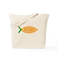 Vegetarian Carrot Tote Bag