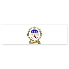 PATE Family Crest Bumper Sticker (50 pk)