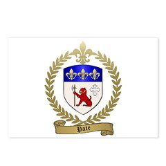 PATE Family Crest Postcards (Package of 8)
