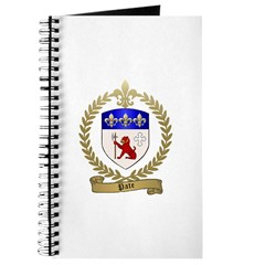 PATE Family Crest Journal