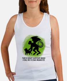 Flying Monkey with Toto Women's Tank Top