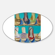 Shoes-e-Shoes Oval Decal
