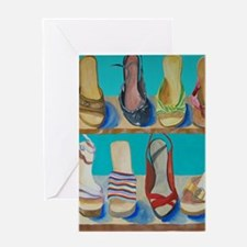 Shoes-e-Shoes Greeting Card