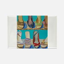 Shoes-e-Shoes Rectangle Magnet (10 pack)