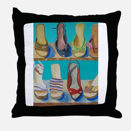 Shoes-e-Shoes Throw Pillow