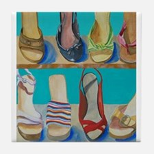 Shoes-e-Shoes Tile Coaster