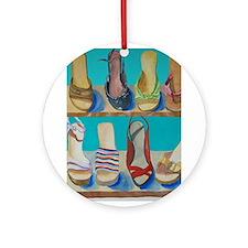 Shoes-e-Shoes Ornament (Round)