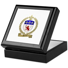 POTTIE Family Crest Keepsake Box