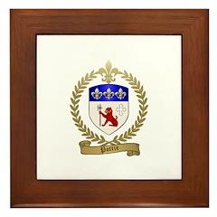 POTTIE Family Crest Framed Tile
