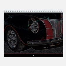 Cute Hot rods Wall Calendar