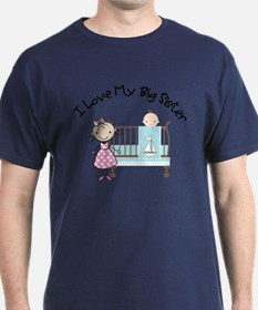 ADULT SIZE little brother big sister T-Shirt