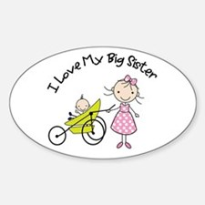 little brother big sister matching shirts Decal