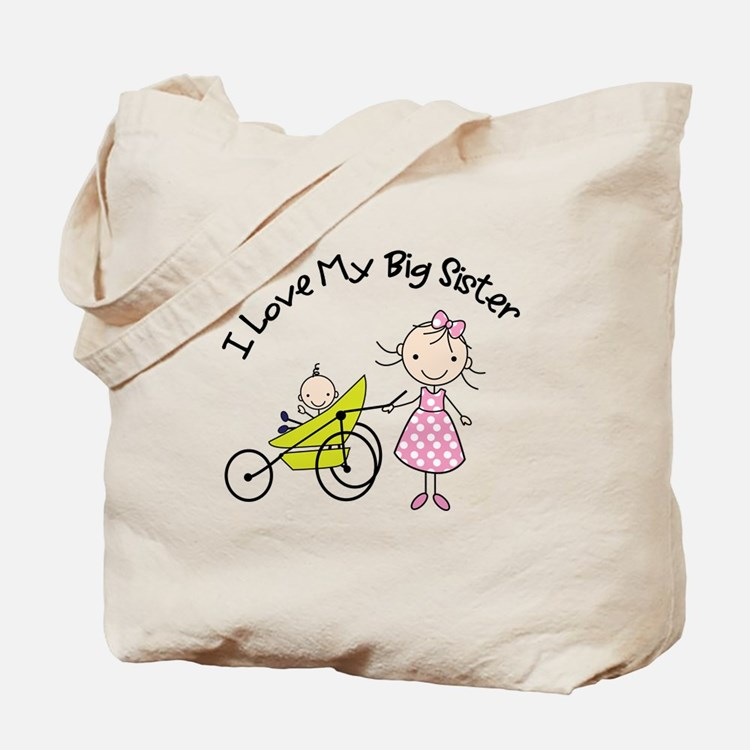 little brother big sister matching shirts Tote Bag