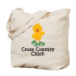 Cross Country Chick Tote Bag