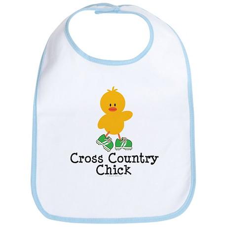 Cross Country Chick Bib