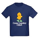 Cross Country Chick Kids Dark T-Shirt