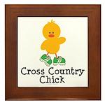 Cross Country Chick Framed Tile