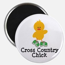 """Cross Country Chick 2.25"""" Magnet (10 pack)"""