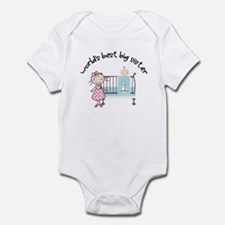 big sister little sister matching Infant Bodysuit