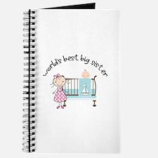 big sister little sister matching Journal