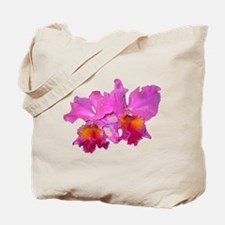 Pink Cattleya Tote Bag