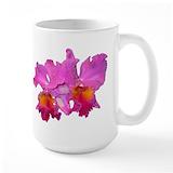 Orchid Large Mugs (15 oz)