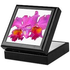 Pink Cattleya Keepsake Box