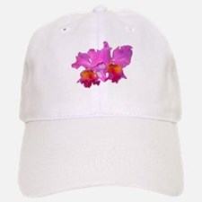 Pink Cattleya Baseball Baseball Cap