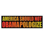 Obamapalogize Bumper Sticker