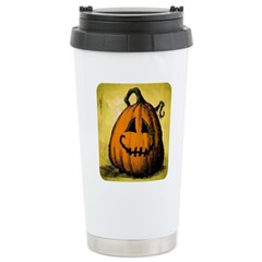 Vintage Pumpkin Travel Mug