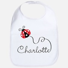 Ladybug Charlotte Bib