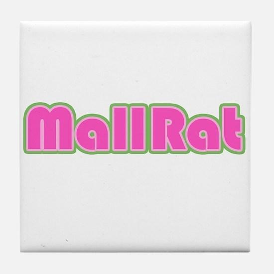 Mall Rat Tile Coaster
