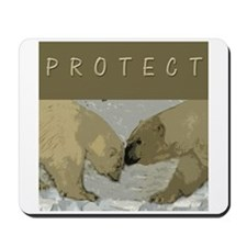Polar Bear Mousepad