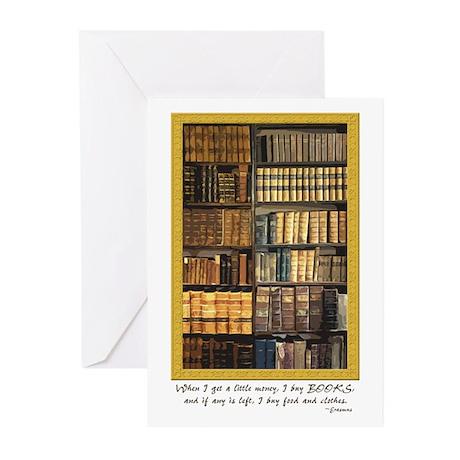 Erasmus Quote Greeting Cards (Pk of 10)