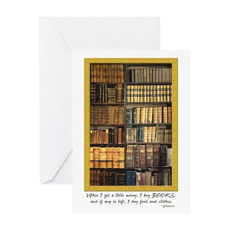 Erasmus Quote Greeting Card