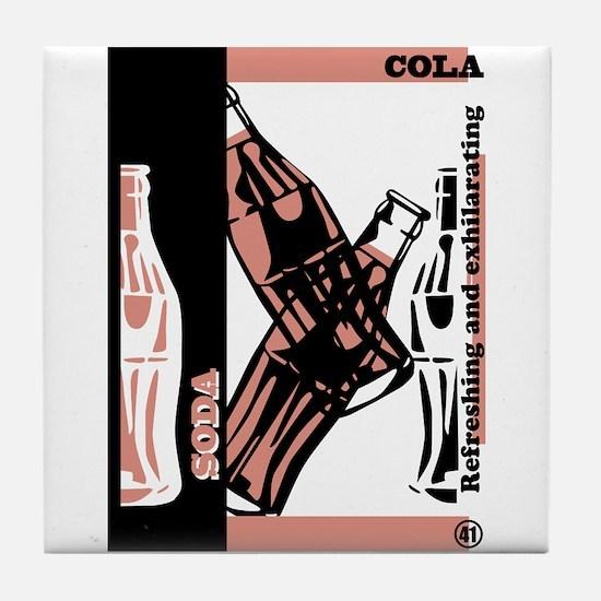 COLA Tile Coaster