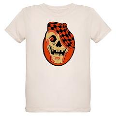 Rockabilly Halloween Skull T-Shirt