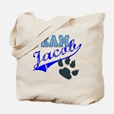 Team Jacob New Moon Movie Des Tote Bag