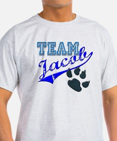 Team Jacob New Moon Movie Des T-Shirt