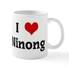I Love Ninong Small Mug