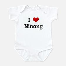 I Love Ninong Infant Bodysuit