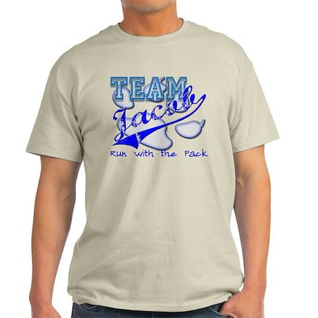 Team Jacob, Run with the Pack Light T-Shirt