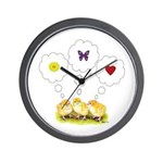 Chickie Daydreams Wall Clock