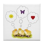 Chickie Daydreams Tile Coaster