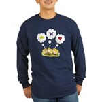 Chickie Daydreams Long Sleeve Dark T-Shirt