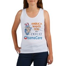 Health Care Defeat Women's Tank Top