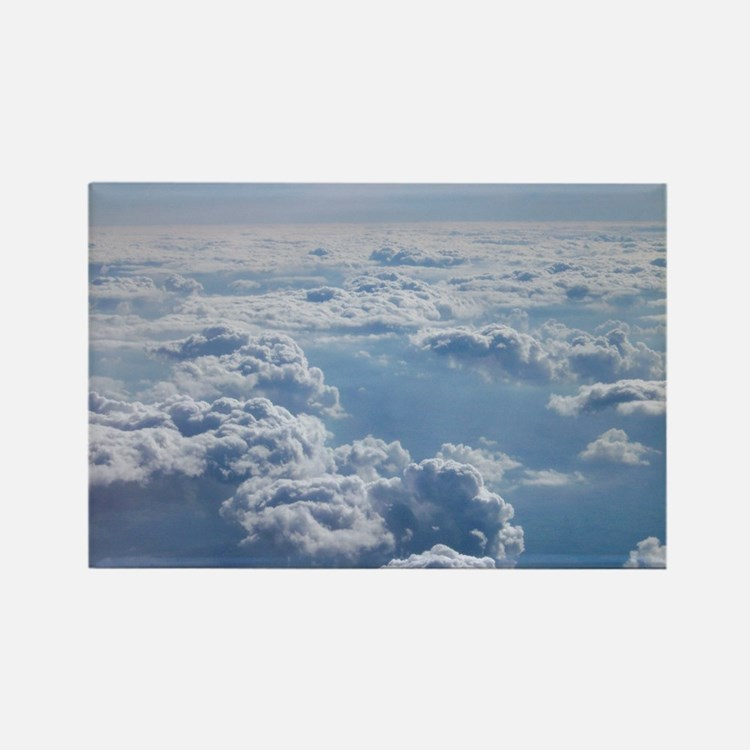 Cute Clouds Rectangle Magnet (10 pack)