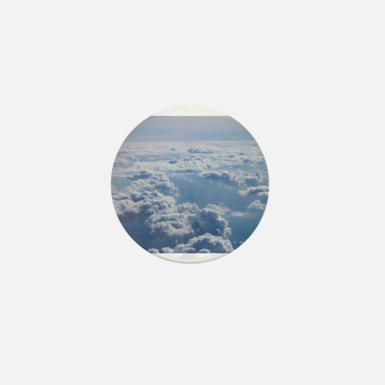 Cute Cloud Mini Button